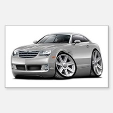 Crossfire Silver Car Decal