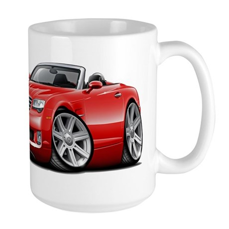 Crossfire Red Convertible Large Mug