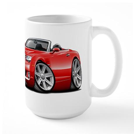 Crossfire Red Convertible Large Mug