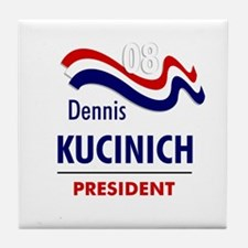 Kucinich 08 Tile Coaster