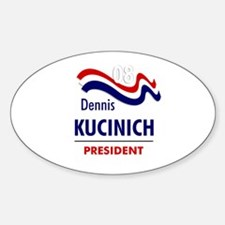 Kucinich 08 Oval Decal