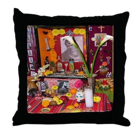 Frida Kahlo Alter Throw Pillow