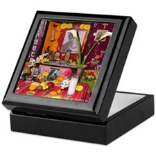 Frida Kahlo Alter Keepsake Box