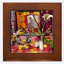 Frida Kahlo Alter Framed Tile