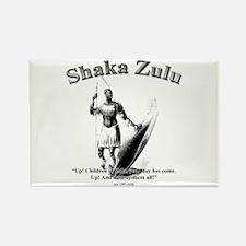 Shaka 01 Rectangle Magnet