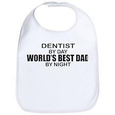 World's Best Dad - Dentist Bib