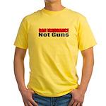 Ban Ignorance Yellow T-Shirt