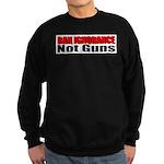Ban Ignorance Sweatshirt (dark)