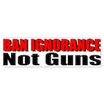 Ban Ignorance Sticker (Bumper 10 pk)