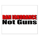Ban Ignorance Small Poster
