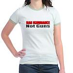 Ban Ignorance Jr. Ringer T-Shirt