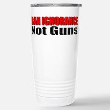 Ban Ignorance Travel Mug