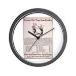 The Navy Needs You Wall Clock