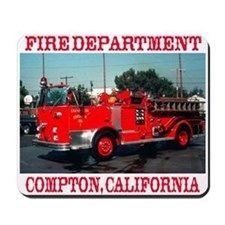 Compton Fire Department Mousepad