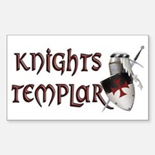 templar Sticker (Rectangle)
