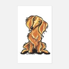 Longhair Dachshund Lover Decal