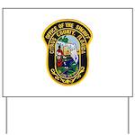 Citrus Sheriff's Office Yard Sign