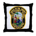 Citrus Sheriff's Office Throw Pillow