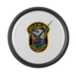 Citrus Sheriff's Office Large Wall Clock