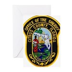 Citrus Sheriff's Office Greeting Cards (Pk of 20)