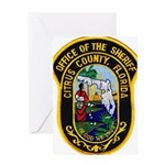 Citrus Sheriff's Office Greeting Card