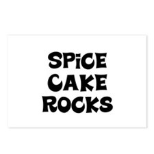 Spice Cake  Rocks Postcards (Package of 8)