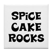 Spice Cake  Rocks Tile Coaster