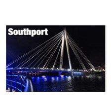Southport - 1 Postcards (Package of 8)