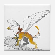 War Griffon Tile Coaster