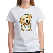 Golden Retriever Portrait Tee