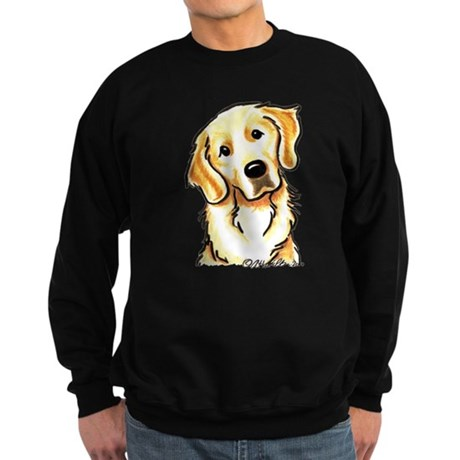 Golden Retriever Portrait Sweatshirt (dark)