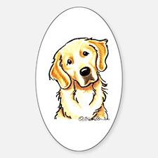 Golden Retriever Portrait Decal