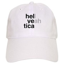 helvetica hell yeah Hat