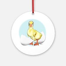 Happy Birthday Gosling Ornament (Round)