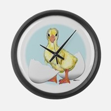 Happy Birthday Gosling Large Wall Clock