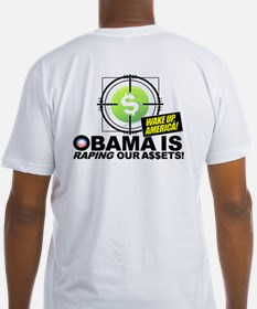 (w/BACK) Obama-is-RAPING-Our-A$$ETS Shirt