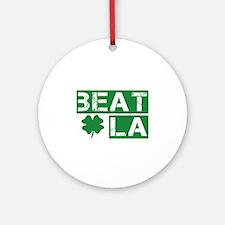 Boston Beat L.A. Ornament (Round)