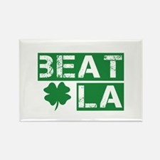Boston Beat L.A. Rectangle Magnet