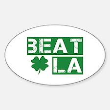 Boston Beat L.A. Decal