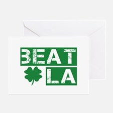 Boston Beat L.A. Greeting Card