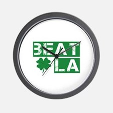 Boston Beat L.A. Wall Clock