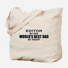 World's Best Dad - Editor Tote Bag