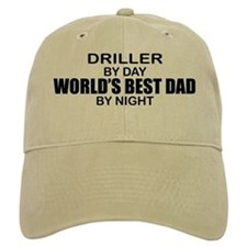 World's Best Dad - Driller Baseball Cap