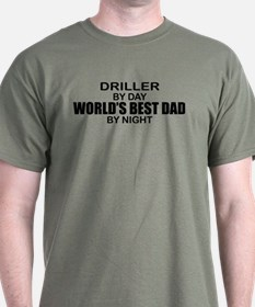 World's Best Dad - Driller T-Shirt