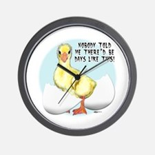 Gosling Hatch #2 Wall Clock