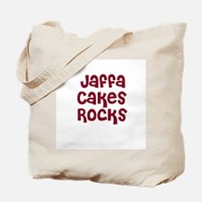 Jaffa Cakes  Rocks Tote Bag