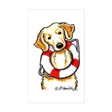 Golden Retriever Lover Rescue Decal