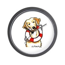 Golden Retriever Lover Rescue Wall Clock