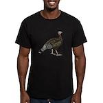 Turkey Standard Bronze Hen Men's Fitted T-Shirt (d