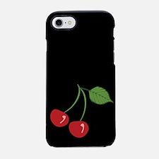retro-cherry_black_ff.png iPhone 7 Tough Case
